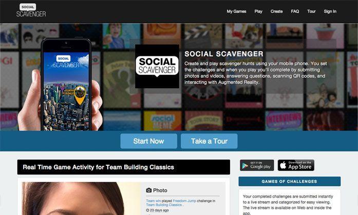 social-scavenger-website